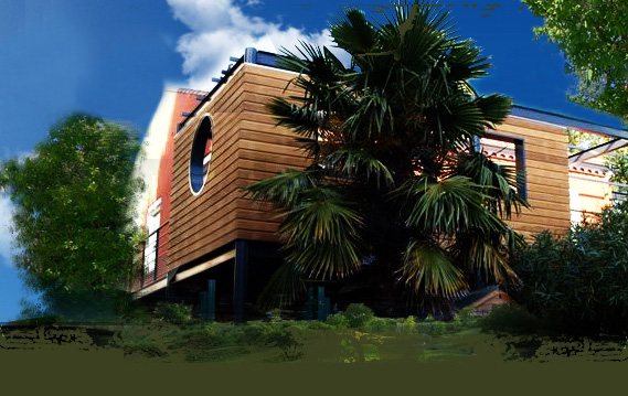 Constructeur des maisons en bois narbonne attitude for Constructeur maison en bois narbonne